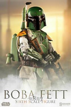 Sideshow 1/6 BOBA FETT Hot Toys Body Custom Star Wars Mandalorian IG-88 Dengar
