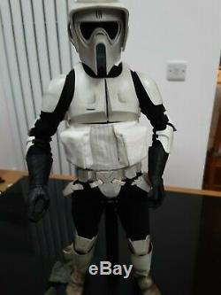 Sideshow Collectibles 1/6 scale Star Wars Scout Trooper with Custom Sniper Rifle