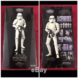 Sideshow Hot Toys Star Wars IMPERIAL STORMTROOPER 1/6 Scale Custom Figure