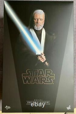 Sideshow Obi Wan Kenobi MMS283 -Custom Figure- new with brown box- No Hot Toys