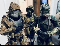 Sideshow Star Wars Commander Neyo Kashyyyk Custom 1/6 Hot Toys