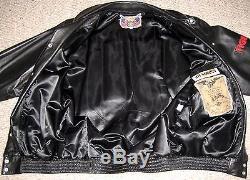 Signed Jeff Hamilton STAR WARS Custom Leather Jacket L. E. Size XXXL Not Worn