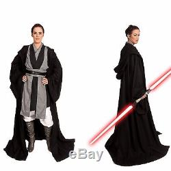 Sith Lord Cosplay Costume Jedi Knight Custom Robe Star Wars Halloween Tunic men