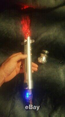 Solos Hold, not Ultrasaber Saberforge Lightsaber star wars ahsoka custom saber