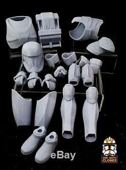 Star Wars 1/6 Clone Republic Commando Armor Kit for Custom Figure Sixth Scale