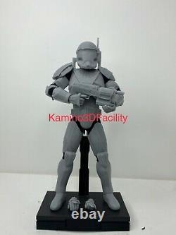 Star Wars 1/6 Custom Clone Commando Fixer Trooper Figure Kit