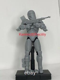 Star Wars 1/6 Custom Clone Commando Sev Trooper Figure Kit