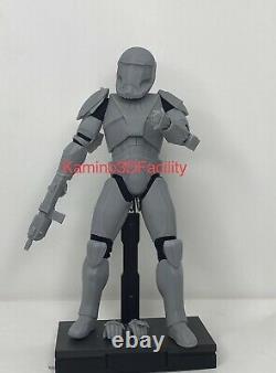 Star Wars 1/6 Custom Clone Commando Trooper Figure Kit (Leader Class) (Boss)