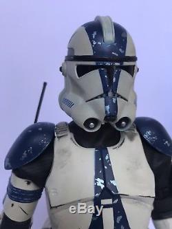 Star Wars 1/6 Scale Mandalorian Military Clone Trooper 501 St Custom Figure