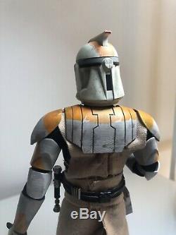 Star Wars 16 Custom Figure 212th Obi Wan Kenobi Not (Hot Toys)
