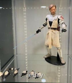 Star Wars 16 scale figure SideshowithHot Toys custom Obi-Wan Kenobi Clone Wars