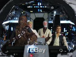 Star Wars A New Hope Custom Millennium Falcon Lighted