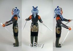 Star Wars AHSOKA TANO with MORAI Rebels Jumbo Retro Custom 12 Action Figure