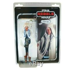 Star Wars AHSOKA THE WHITE & MORAI Rebels Jumbo Retro Custom 12 Action Figure