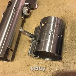 Star Wars ANH Luke Skywalker custom reveal lightsaber Graflex 3 cell replica