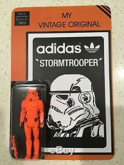 Star Wars Adidas Hi-Vis Stormtrooper vintage custom moc Kenner