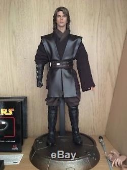 Star Wars Anakin Skywalker 1 6 Scale Figure Custom With Hot Toys Parts Rare