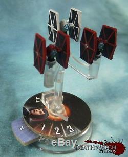 Star Wars Armada Custom Painted Empire Fleet & Squadrons Incl. 10 Ships