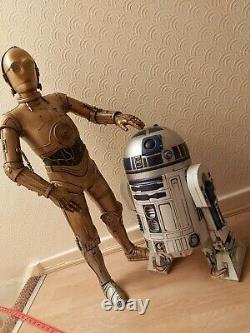 Star Wars BIG FIGS MASSIVE 31 C3PO weathered battle damaged custom painted