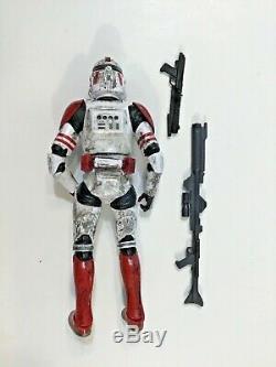 Star Wars Black Series 6 Custom Paint Weathering Shock Trooper Order66 Clone EE