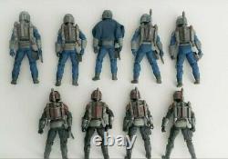 Star Wars Black Series 6 Inch Mandalorian Death Watch Army Builder Custom Lot