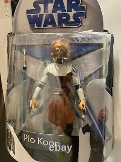 Star Wars Black Series 6 Plo Koon Custom Rebuild The Clone Wars Lost Episodes