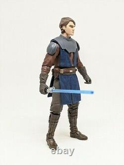 Star Wars Black Series 6 inch Custom Anakin Skywalker The Clone Wars