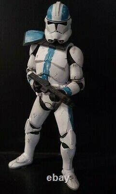 Star Wars Black Series Custom Captain Howzer Bad Batch Clone Wars