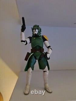 Star Wars Black Series Custom Clone Phase 2 Commander Doom
