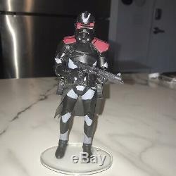Star Wars Black Series Custom Utapau Shadow Clone Trooper Commander
