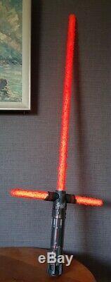 Star Wars Black Series Custom Version Kylo Ren Crossguard FX Lightsaber Boxed