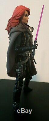 Star Wars Black Series Mara Jade 6 Custom Figure Skywalker Mandalorian