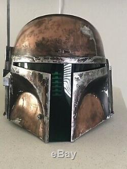 Star Wars Boba Fett Helmet Mandalorian Custom Fantasy