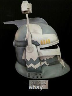 Star Wars CC Wolffe Clone Trooper Helmet Clone Wars Custom Helmet No Vader