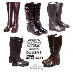 Star Wars CUSTOM Jedi Sith Boots STEAMPUNK SCIFI 8 9 10 11 12 13 14