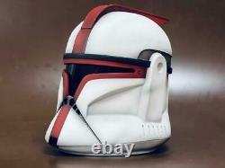Star Wars Clone Trooper Captain helmet Custom Cosplay Airsoft Handmade Gift