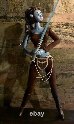 Star Wars Clone Wars AAYLA SECURA 1/6 OOAK Custom Figure Volks Momoko Jedi