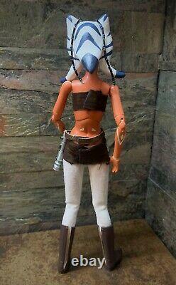 Star Wars Clone Wars Padawan AHSOKA TANO Jedi OOAK Custom 1/6 Scale 11 Momoko