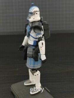 Star Wars Clone Wars custom 3.75 Cobalt ARC 501st clone trooper BF2
