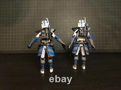 Star Wars Clone Wars custom 3.75 Fives ARC 501st clone trooper