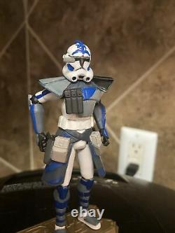 Star Wars Clone Wars custom 3.75 Fives ARC 501st clone trooper Phase 1 Unique