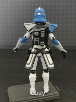 Star Wars Clone Wars custom 3.75 Jesse ARC 501st clone trooper phase 2
