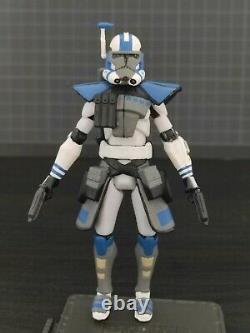 Star Wars Clone Wars custom 3.75 accurate Havoc ARC 501st clone trooper