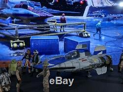 Star Wars Custom A-wing fighter