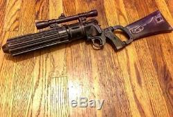 Star Wars Custom Boba Fett Blaster 1980 prop style READ