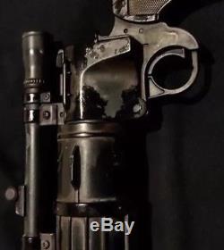 Star Wars Custom Boba Fett Blaster empire strikes back version distressed