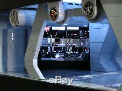 Star Wars Custom Built Star Destroyer Executor AFT Bridge Scratch Diorama Prop