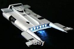 Star Wars Custom Built The Last Jedi Libertine Star Yacht Ship LED Prop Diorama