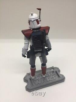 Star Wars Custom Clone Wars Arc Trooper Hammer Figure TVC Defense Of Kamino