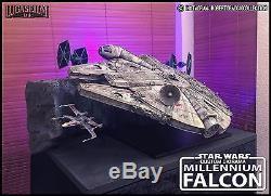 Star Wars Custom Hasbro Hero Millennium Falcon Edition Sideshow Master Replica
